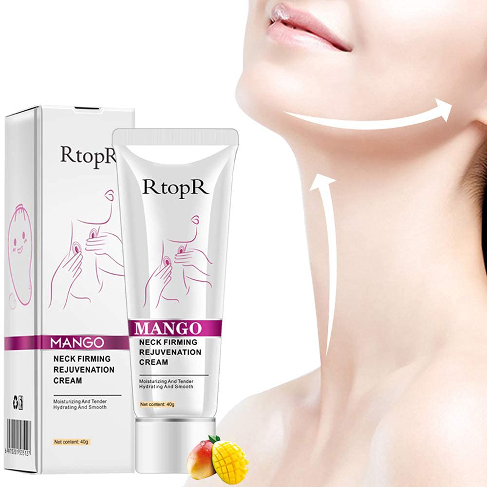 Neck Firming Cream for Wrinkles and Age Spots - Neck Tightening and Lifting Cream,Reduce Double Chin,Firm Sagging Skin,Anti Aging - Moisturizer for Neck & Décolleté : Beauty & Personal Care