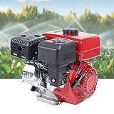 DYRABREST Electric Start Gnerator Engine Electric Start-Home Back Up Go Kart Gas Engine 3KW 3.6L Tank Volume Durable Gasoline Motor for Irrigation Electric Home Generator Outdoor Generators