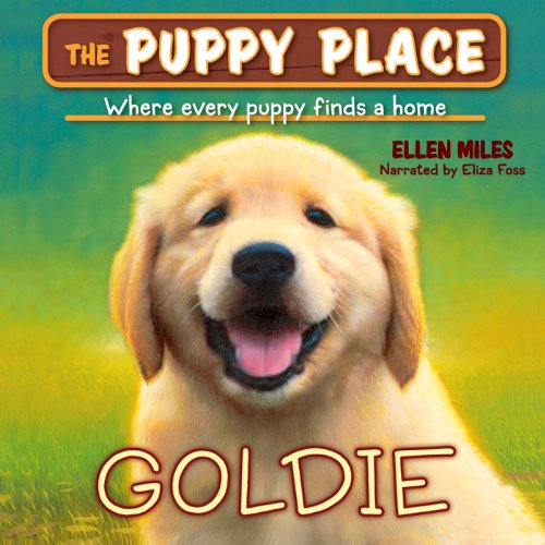 Puppy Place #1: Goldie audiobook cover art