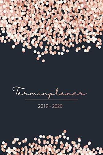 Terminplaner 2019 2020: Kalender 2019 2020 zum planen, organisieren und notieren - Wochenplaner, Taschenkalender und Terminkalender von Oktober 2019 bis Dezember 2020