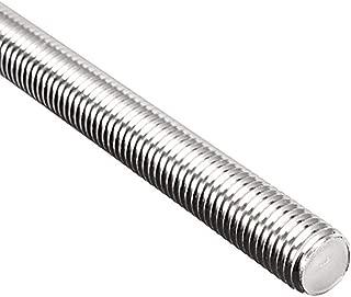 Beduan Fully Threaded Rod Zinc Plated Steel M14-2.0 x 3.3ft Length Long Threaded Screw