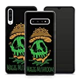 Handyhülle Goa Om für Samsung Silikon MMM Berlin Hülle Hanf Cannabis Mushroom Kiffen Bong Gras PSY, Kompatibel mit Handy:Samsung Galaxy S6 Edge, Hüllendesign:Design 6 | Silikon Klar