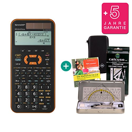 SafeCase Custodia calcolatrice Modello Sharp EL-W550XG