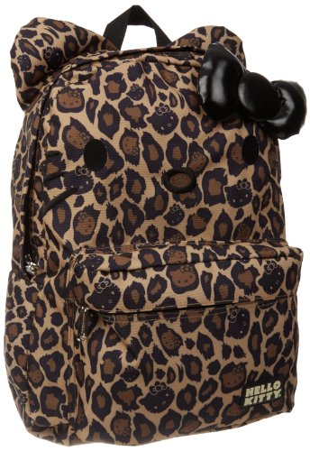 Hello Kitty SANBK0049 Backpack,Black/Brown,One Size