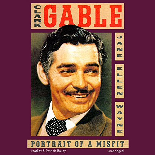 Clark Gable audiobook cover art