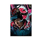 YOYOI Poster Ghost In The Shell Poster dekorative Malerei