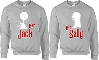 Her Jack His Sally Couple Sweaters, Couple Sweater, Couple Crew-Neck Sweatshirt