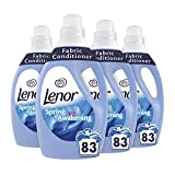 Lenor Fabric Conditioner, Washing Liquid Laundry, 332 Washes (3L x 4), Spring Awakening Scent