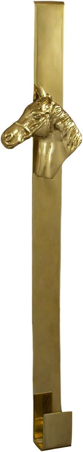 Tack Room Studio mart Solid Brass Hanger- Horsehead Wreath Luxury
