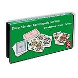 Spielkartenkassette: Skat, Rommé, Bridge, Canaster
