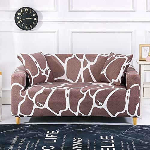 WXQY Funda de sofá Todo Incluido a Prueba de Polvo, en Forma de L Necesidad de Comprar Dos Piezas, Funda de sofá elástica sillón Chaise Longue A25 1 Plaza