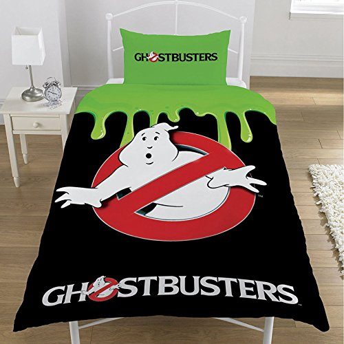 Ghostbusters Classic Duvet Set, Polyester/Cotton, Multi-Colour, Single