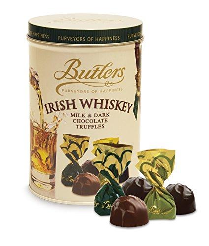 Butlers Irish Whiskey Milk & Dark Chocolate Truffles Selection, 170G