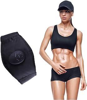 EMS 腹筋ベルト、EMS 腹筋 ベルト皮質 EMS ベルト 痩身器具 USB充電式 腰部 お腹 腕 足 肩 背中 多部位脂肪燃焼 筋肉運動。
