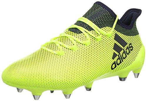 adidas X 17.1 SG, Botas de fútbol Hombre, Amarillo (Amasol/Tinley/Tinley), 42 EU