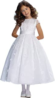 first communion dress short