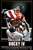 Posters USA Rocky IV 4 Movie Poster GLOSSY FINISH - MOV023 (24' x 36' (61cm x 91.5cm))