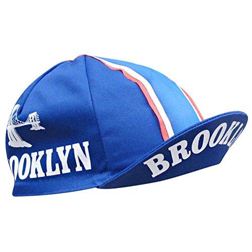 Retro Prestige Team Cycling Caps, Brooklyn Blue, One Size