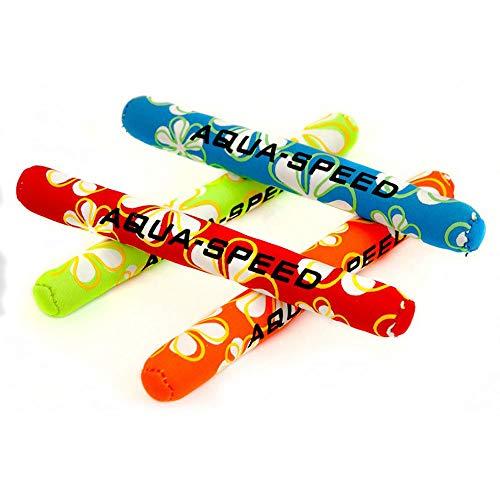 Aqua-Speed - Bastones de Buceo para niños, Multicolor, Talla única
