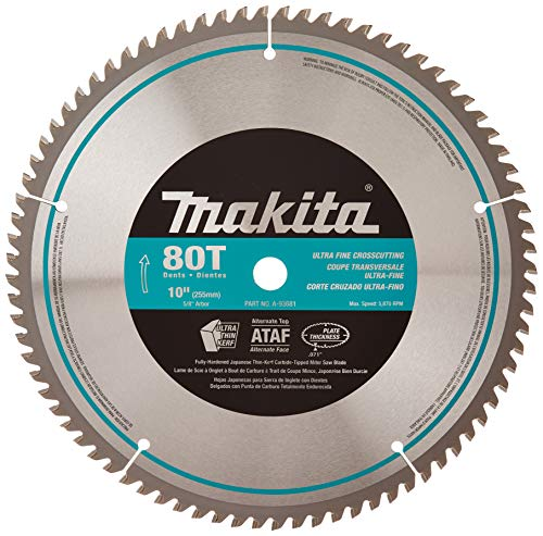 Makita-10-Inch Micro Polished Miter saw Blade