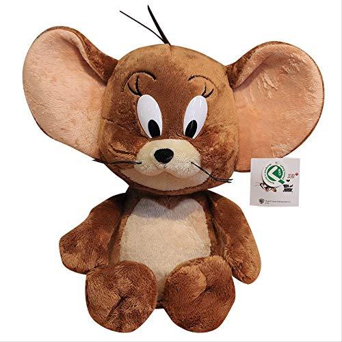 Peluche Gatto E Topo 28 Cm, Jerry Tom For Baby Regalo Di Compleanno Per Bambini Bambola Di Sicurezza Morbida