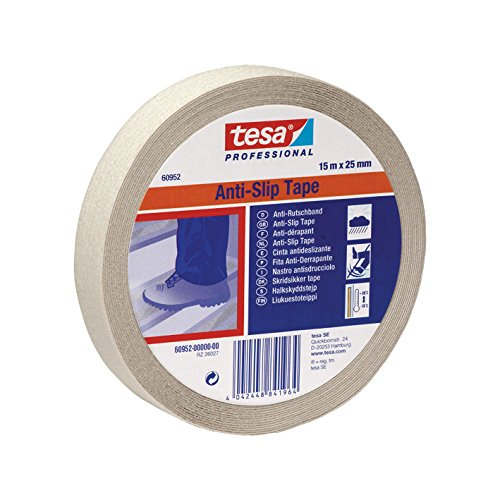 TESA 60952-00000-00 - Cinta Antideslizante - 15m x 25mm Blanca transp.