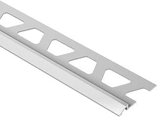 Schluter Reno-U 3/8 in. x 8 ft. Satin Anodized Aluminum Reducer Edge Protection Trim