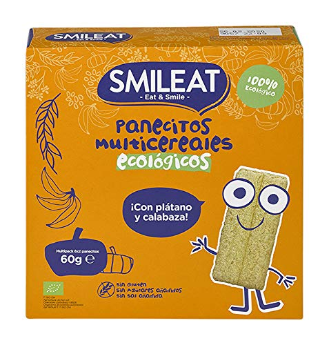Snileat panecillos multicereales Ecológico y Bio 60g