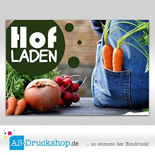 Werbeschild 'Hofladen - Latzhose' / Standard - ca. 180 x 120 cm