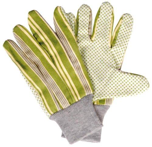 Esschert Design Handschuhe gestreift, grün, 12 x 0.5 x 23.5, EL030