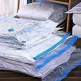Bolsas de Almacenamiento al vacío Nuevo organizador de almacenamiento de bolsas de vacío cómodas Organizador transparente Organizador de sello Comprimido Viaje Ahorro Espacio Bolsas de espacio Paquete