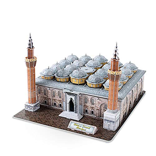 JYTTCE 3D Puzzle Turkey Bursa Mosque DIY Architectural Model Toys