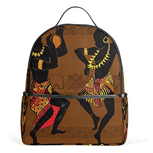 CPYang Mochila Escolar para Baile Africano, para Mujer, Universidad o Uso Casual, Mochila de Viaje para niñas, niños, Mujeres y Hombres