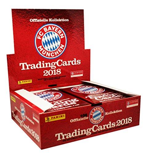 Panini - FC Bayern München Trading Card Kollektion 2017/18 - 1 Display (24 Booster)