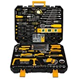 298 Pcs Home <span class='highlight'>Tool</span> Kit Set, <span class='highlight'>Mechanic</span> <span class='highlight'>Tool</span> Set for Car Motorbike Repair Daily Maintenance, Household DIY <span class='highlight'>Tool</span> Box with <span class='highlight'>Tool</span>s Included, Hammer Pliers Screwdrivers Basic Hand <span class='highlight'>Tool</span> Sets
