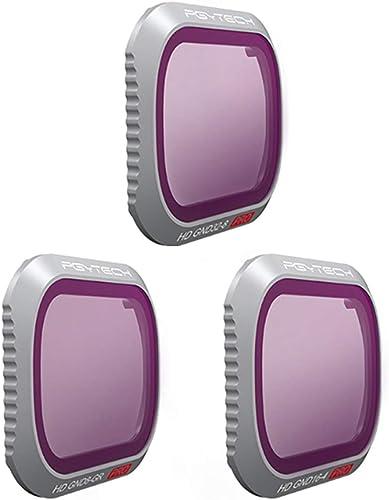 descuento de ventas en línea BoroK PGYTECH 3 Piezas de Filtro Filtro Filtro de Lente -dji Mavic Kit de Filtro  ND8-GR ND16-4 ND32-8 para dji Mavic 2 Pro  el más barato