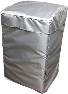 EBISSY 洗濯機カバー 屋外 防水 【 4面 すっぽり 改良版 1年保証 】 シルバーコーティング 紫外線 対策 (Lサイズ:92×60×58)
