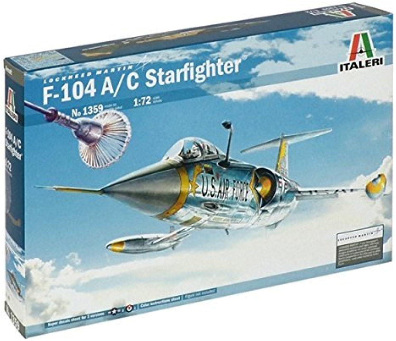 Italeri 1 72 F-104 A c Starfighter   1359 by Italeri