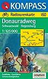 150 Danubio en bicicleta: Selva Negra-ratisbona 1:125.000