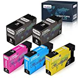 OfficeWorld Compatible Ink Cartridge Replacement for Canon PGI-1200XL PGI-1200 XL for Canon Maxify MB2720 MB2320 MB2020 MB2120 MB2350 MB2050 Printer (2 Black, 1 Cyan, 1 Magenta, 1 Yellow, 5-Pack)