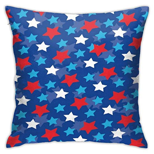 Miedhki Decorations Throw Pillow Covers 18 x 18 inch, Square Pillowcases for Couch, Alien Donut Pot Leaf Weed Pizza White