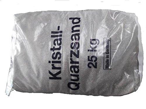 Dorfner Quarzsand 9 Körnung 0,1-0,5 mm 25 Kg Sack