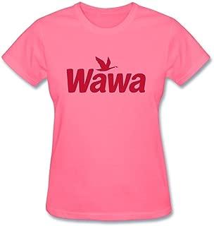 Women's I Love Wawa Custom Sleeve T Shirt