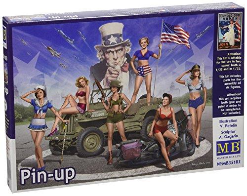 Master Box MB35183 - 1/35 Pin-up Figur