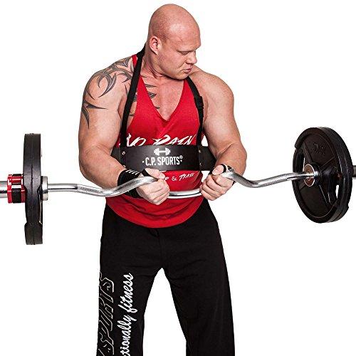 C.P. Sports Armtrainer Bizeps Blaster, Schwarz, Bizeps-Blaster - Bizeps Isolator Trizeps Bomber, Biceps Isolator Bizepstrainer