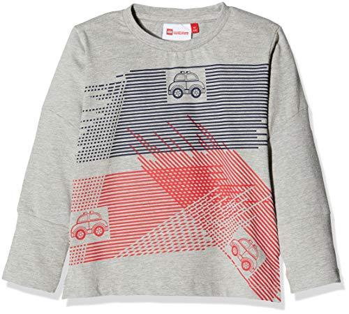 Lego Wear Duplo Boy Tyler 705 T- T-Shirt Manches Longues, Gris (Grey Melange 921), 18 Mois Bébé garçon