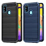 VGUARD 2 Pack Case for Samsung Galaxy M30S / M21, Carbon