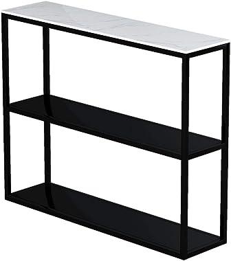 FUFU Side Tables Console 80X25X30cm Table Hallway Entryway Table Living Room Desk Storage Shelves Kitchen Shelf Microwave Rac
