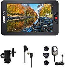 Osee T7 7 Inch Ultra Bright 3000 Nits Daylight Viewable DSLR Camera Field 3D Lut HDR Monitor 1920×1200 Full HD IPS Support 4K HDMI Input & Output Including Ball Head AC Power Adaptor and D-tap Cable