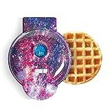 Dash DMW100GP Machine for Individual, Paninis, Hash Browns, & other Mini waffle maker, 4 inch, Purple Galaxy